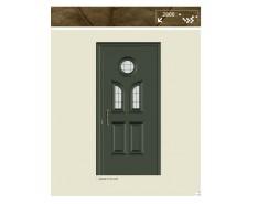 Πόρτα αλουμινίου 9