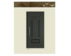 Πόρτα αλουμινίου 15